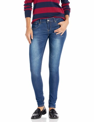 Cover Girl Women's Juniors Jeans Butt Lifting Sexy Pull on Low Waist
