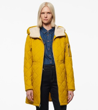 Andrew Marc CASCADE CRINKLE QUILT PARKA