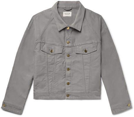 Fear Of God Cotton-Corduroy Trucker Jacket