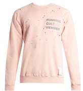 Satisfy Cult distressed cotton sweater