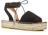 Andre Assous Sabina Ankle Strap Perforated Espadrille Sandals