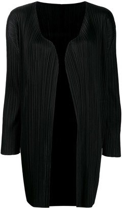 Pleats Please Issey Miyake Pleated Kaftan Dress