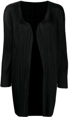 Pleats Please Issey Miyake pleated kaftan dress