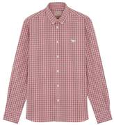 MAISON KITSUNÉ Classic Checker Shirt With Embroidered Fox