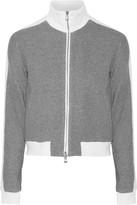 3.1 Phillip Lim Silk-trimmed cotton jacket