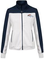G-iii Sports Women's Denver Broncos Play Maker Rhinestone Track Jacket