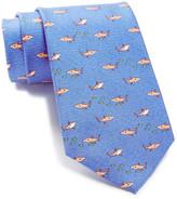 Tommy Hilfiger Silk Shark Fish Print Tie