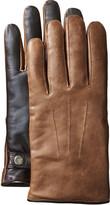 Johnston & Murphy Vintage Leather Smart Gloves
