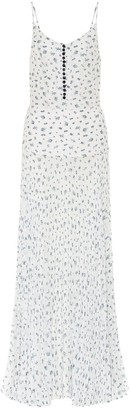 Chloé Floral silk maxi dress