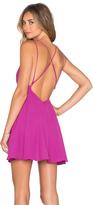 Krisa Cross Back Mini Dress