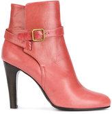 Michel Vivien buckle strap detail ankle boots