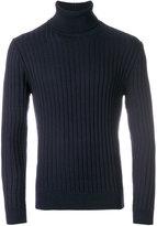 Eleventy turtleneck ribbed jumper - men - Virgin Wool - S