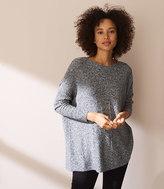 LOFT Lou & Grey Drop & Roll Sweater