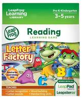 Leapfrog Learning Game: Letter Factory (for LeapPad Tablets and Leapster GS)
