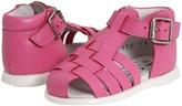 De Osu B-100 SS11 (Infant/Toddler) (Bubble Pink Leather) - Footwear