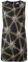 Fausto Puglisi sun and chain print dress - women - Spandex/Elastane/Polyimide/Polyamide - 40