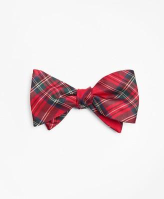 Brooks Brothers Prince of Wales Tartan Bow Tie