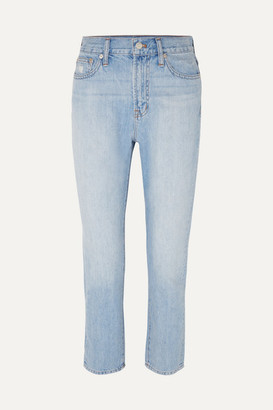 Madewell The Perfect Summer High-rise Straight-leg Jeans - Light denim