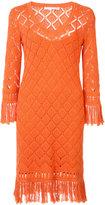 Trina Turk crocheted dress - women - Cotton - L