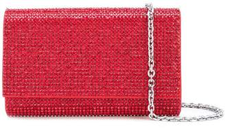Judith Leiber Couture Fizzy fullbead clutch