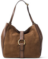 MICHAEL Michael Kors Quincy Large Shoulder Bag, Dark Caramel