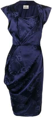 Vivienne Westwood sleeveless shift midi dress