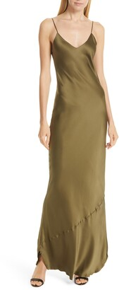 Nili Lotan Silk Camisole Gown