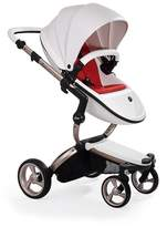 Infant Mima Xari Rose Gold Chassis Stroller With Reversible Reclining Seat & Carrycot