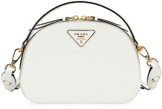 Prada Odette Top-Handle Bag w/ Removable Crossbody Strap