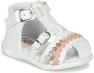 GBB ALIDA girls's Sandals in White