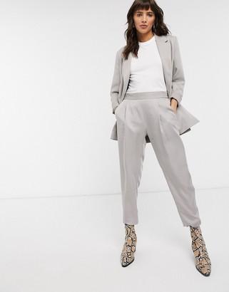 AllSaints Alva pants in grey