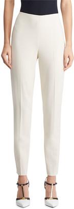 Ralph Lauren Collection Annie Straight-Leg Stretch-Wool Pants
