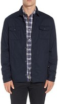 Original Penguin Men's Two Pocket Shirt Jacket