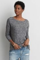 American Eagle Outfitters AE Hi-Low Crew Sweater