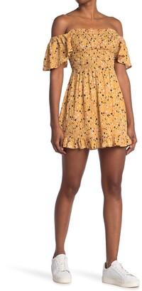 Tiare Hawaii Hendrix Off-the-Shoulder Mini Dress
