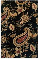 Bed Bath & Beyond Rizzy Home Destiny Collection Harper Wool Rugs in Black