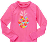 Gymboree Heart Rash Guard