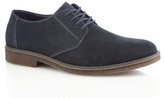 Rieker Blue Leather 'antistress' Derby Shoes