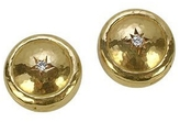 Torrini 18K Gold and Diamond Star Button Covers