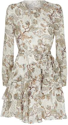 Shona Joy Floral Quinn Mini Dress