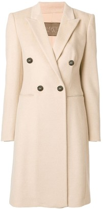 Giambattista Valli Double-Breasted Button Coat