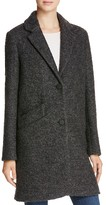 Andrew Marc Paige Pressed Bouclé Car Coat