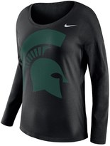 Nike Women's Michigan State Spartans Tailgate Long-Sleeve Top