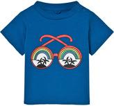 Stella McCartney Blue Rainbow Sunglasses Tee
