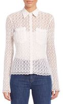 See by Chloe Button Down Lace Shirt