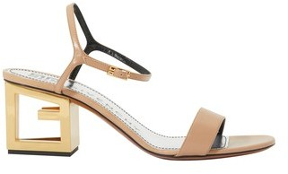 Givenchy Triangle cutout heel leather sandals