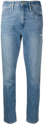 Frame Le Beau slim-fit jeans