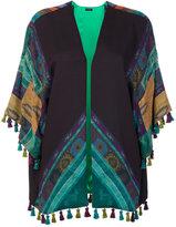 Etro tassel detail jacket - women - Silk/Polyamide/Polyester/Wool - One Size