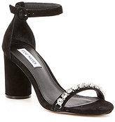 Steve Madden Sparkles Suede Dress Sandals