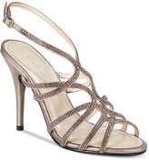 Caparros Helena Strappy Embellished Evening Sandals Women's Shoes